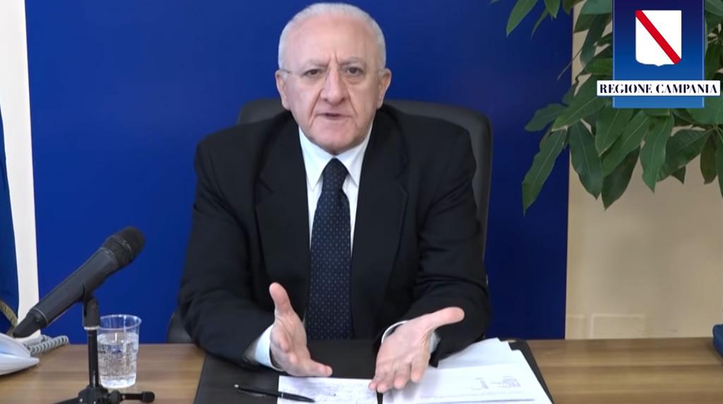 Coronavirus : aggiornamenti del Presidente Vincenzo De Luca- 3 aprile 2020