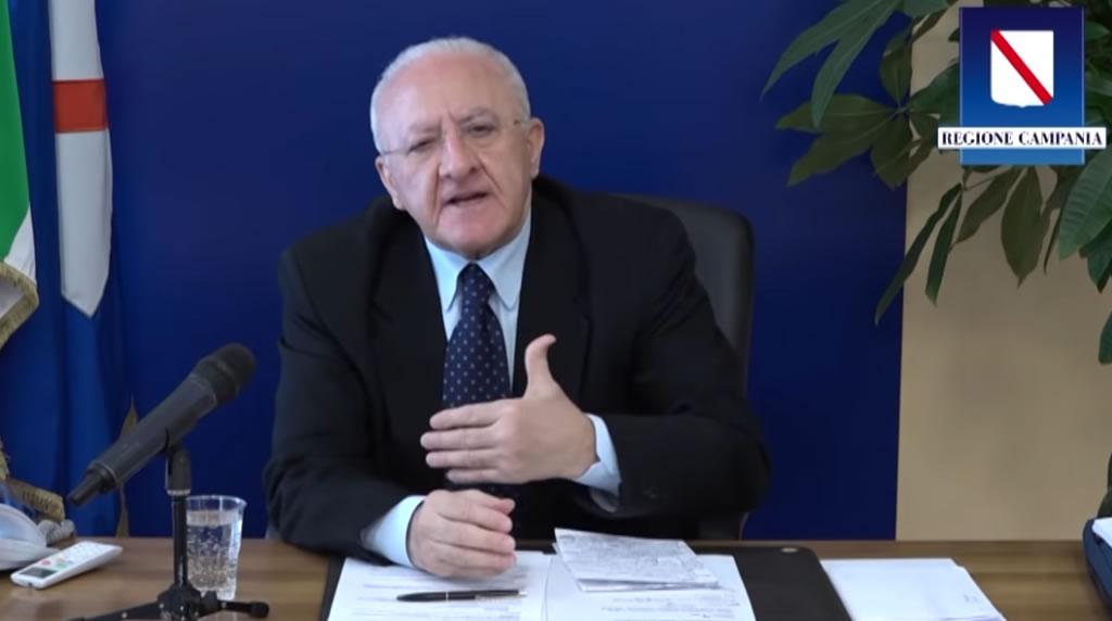 Coronavirus : aggiornamenti del Presidente Vincenzo De Luca- 24 aprile 2020